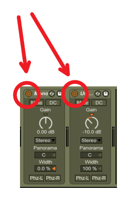 Ableton Live Master Bus Utility Buttons