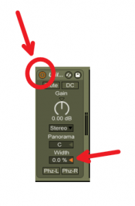 Ableton Live Mono Button
