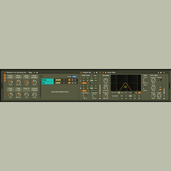 Ableton Download – Ducking Delay – Effects Rack – SS0004