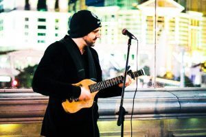 The Second Spirit - Busking in Las Vegas - Cromwell - 2017-01-12 I Am Focusing On This Guitar Solo