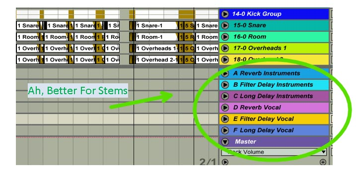 Ableton - Benefits of a Separate Vocal Return Bus - The Second Spirit