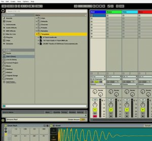 Ableton Multiple Default Templates Folder