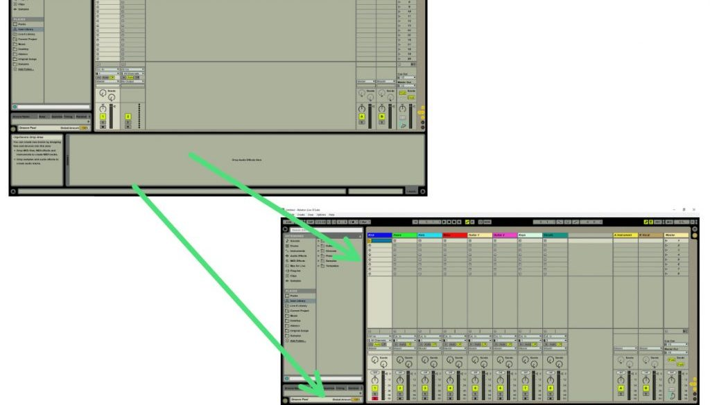 How to Make an Ableton Template or Default Set