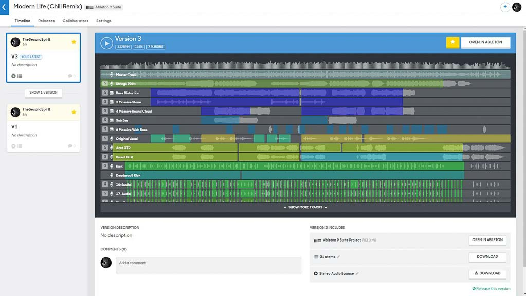 Splice - Ableton Project Collaboration Tool