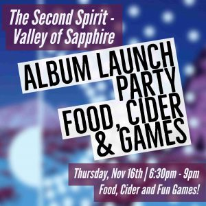 Valley of Sapphire – Album Launch Party – Food, Cider & Games