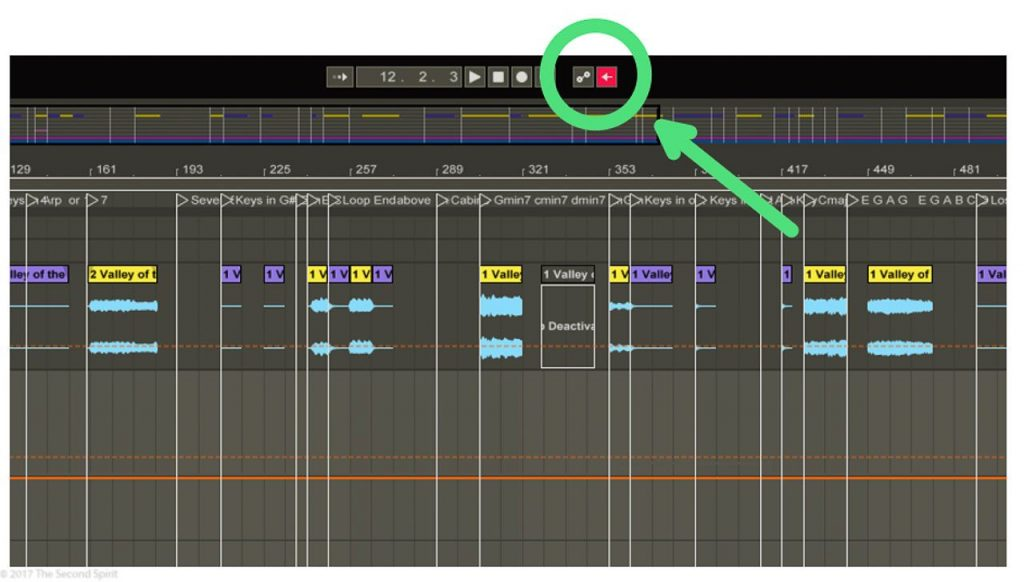 Ableton Performance Tip – Keymap the Re-Enable Automation Button