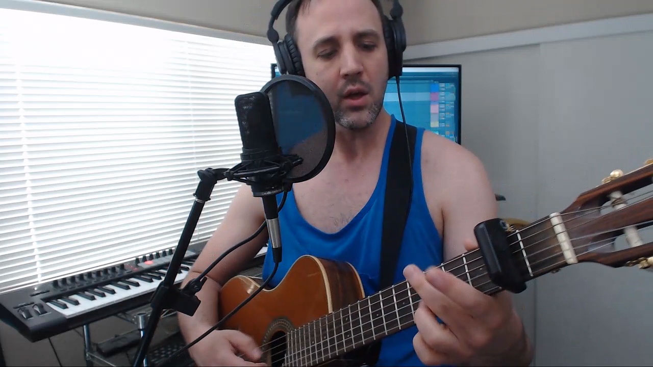 What a Wonderful World -Acoustic Fingerpicking Singing Cover live Stream 2019-06-09