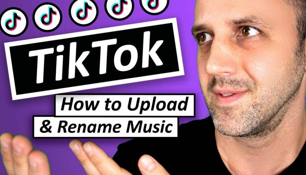 Tik Tok How To Upload Music