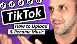 Tik Tok How To Upload Music