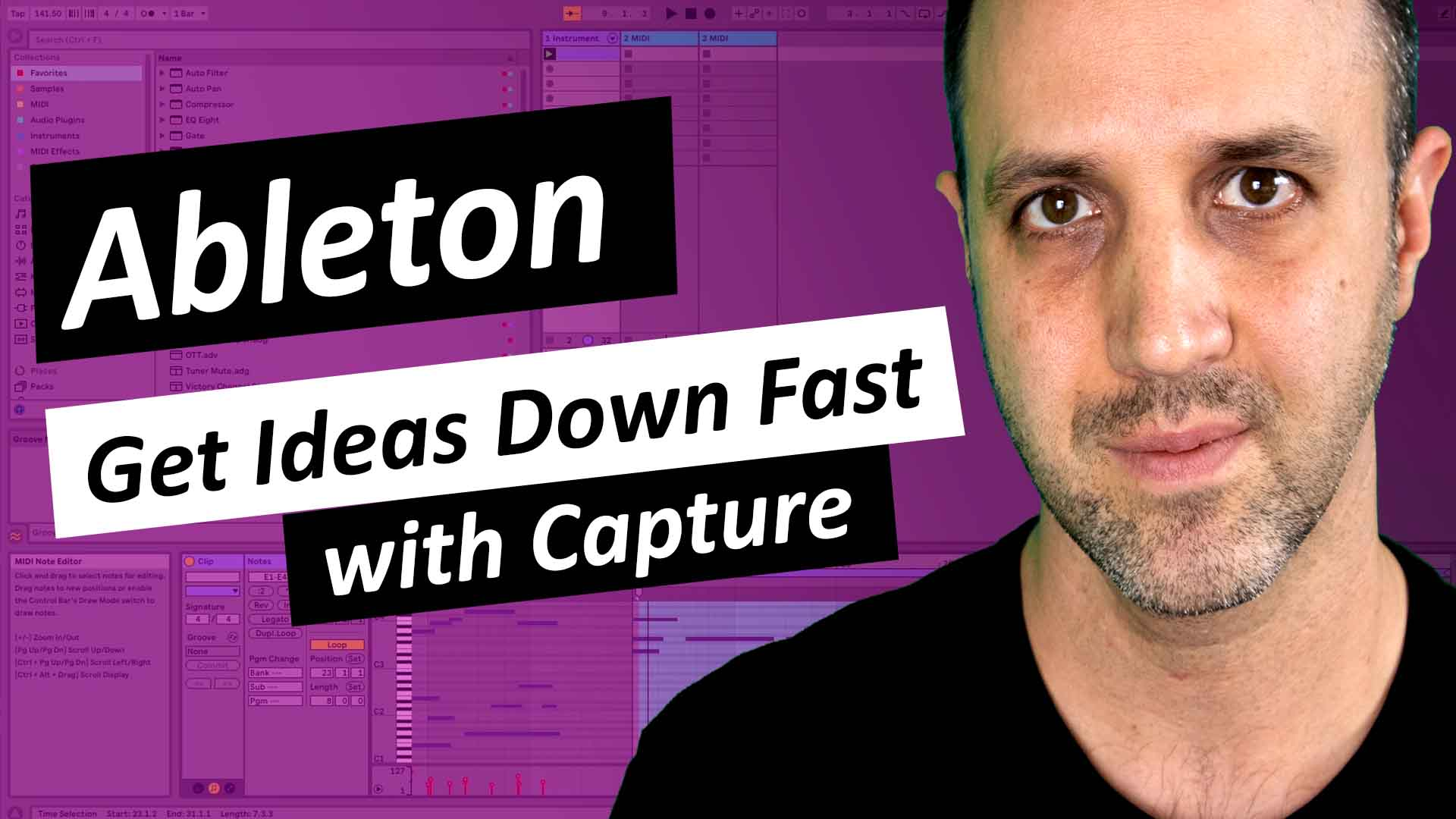 Ableton - Get Ideas Down Fast With Capture - Thumbnail